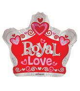 """22"""" Sv Royal Love Crown Shape"""