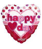 "4"" Valentine's Balloon Dots"