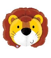 """30"""" Multi-Sided Foil Shape Dimensionals Lion"""