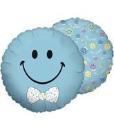 "4"" Airfill Smiley Baby Boy"
