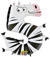 """40"""" Number 5 """"Zebra"""" Jumbo Balloon (Polybag)"""
