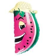 "30"" Watermelon Fruit Balloon Super Shape"