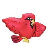"26"" Foil Shape Cardinal Balloon"