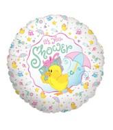 """18"""" Balloon Baby Shower Duck"""
