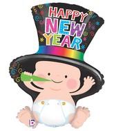 "31"" Foil Shape Balloon New Year Baby"