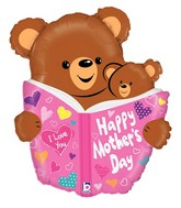 "28"" Foil Shape Balloon Mother's Day Book"