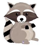 "36"" Foil Shape Balloon Woodland Raccoon"