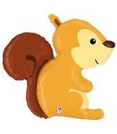 "36"" Foil Shape Balloon Woodland Squirrel"