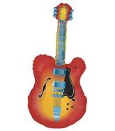 """43"""" Mylar Acustic Guitar Super Shape Balloon"""