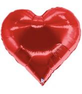 """30"""" Casino Super Shape Heart Mylar Balloon"""