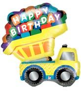 """33"""" Foil Shape Balloon Dump Truck"""