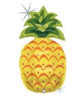 "37"" Holographic Shape Pineapple Balloon"