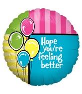 """18"""" Balloon Feel Better Balloons"""