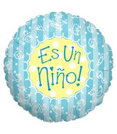 "18"" Es Un nino Spanish Balloon"