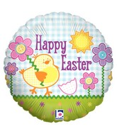 "18"" Balloon Button Easter"