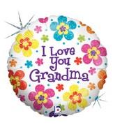 18'' I Love You Grandma B139