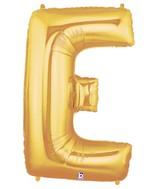 "40"" Large Letter Balloon E Gold"