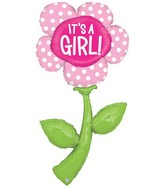 5 foot (two pre-attached balloons) Fresh Picks It's A Girl