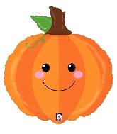 "29"" Foil Shape Produce Pals Pumpkin Balloon"