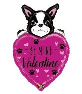 """37"""" Mighty Bright Balloon Valentine Dog"""