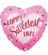 "17"" Happy Sweetest Day Balloon"