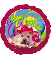 "18"" Happy Birthday Doggy"