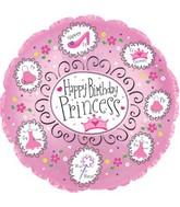 "18"" Happy Birthday Princess"