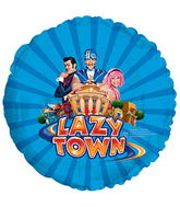 "17"" Lazy Town Balloon Packaged"