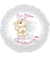 """17"""" On Your Christening Girl L Balloon"""