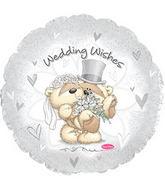 "17""Fizzy Moon Wedding Wishes Balloon"