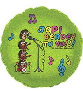 "17"" Japi Berdey Tu Yu Balloon"