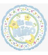"""9"""" Airfill Es Un Nino Moon & Stars M25"""