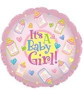 """9"""" Airfill Baby Girl Bottles M30"""
