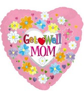 "18"" Get Well Mom Balloon"