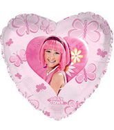 """17"""" Lazy Town Stephanie Balloon Packaged"""