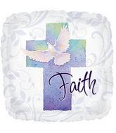 """20"""" Faith Q-Bloon Balloon"""