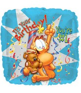 "18'' Garfield ""It's your B-day, you're #1"""