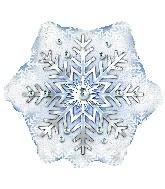 "18"" Prism Pattern Snowflake"