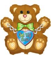 """34"""" Get Well Bear"""