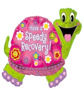 """31"""" Have A Speedy Recovery Turtle"""