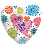 "18"" Happy Mother's Day Jewel Flowers"