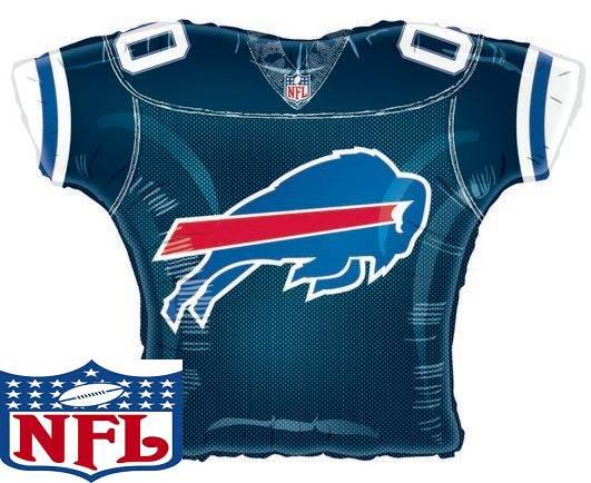 "23""Foil Jersey Balloon Buffalo Bills"