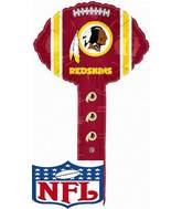Air Filled Hammer Balloon Washington Redskins