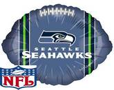 """9"""" Airfill Only NFL Balloon Seattle Seahawks"""