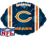 "18"" NFL Foil Balloon Chicago Bears"
