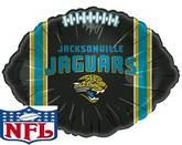 """18"""" Jacksonville Jaguars Football Shape"""