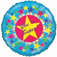 """18"""" Your Super With Stars Balloon"""