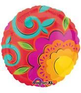 """18"""" Caliente Foil Balloon"""