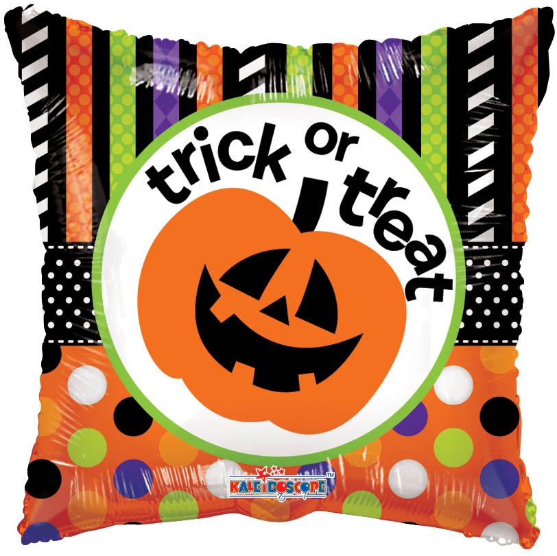 "18"" Trick Or Treat Pumpkin Balloon"