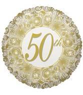 "18"" 50th Anniversary Balloon"